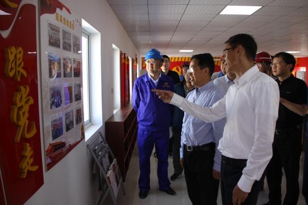 省交通运输厅巡视员袁广勤一行 调研沈康连接线项目